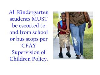 kindergarten escort
