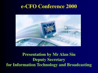e-CFO Conference 2000