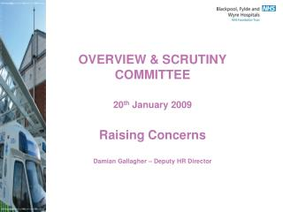 Raising Concerns Policy - Scope