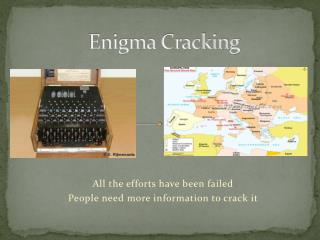 Enigma Cracking