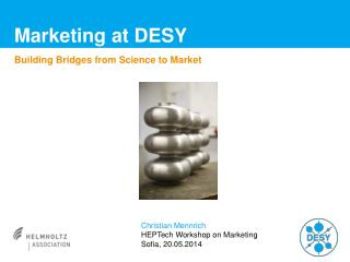 Marketing at DESY
