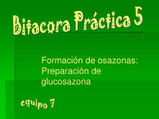 Bitacora Práctica 5