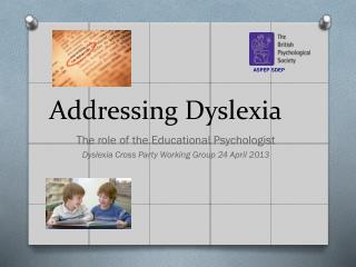 Addressing Dyslexia