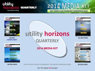 utility horizons QUARTERLY 2014 MEDIA KIT