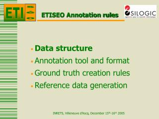 ETISEO Annotation rules