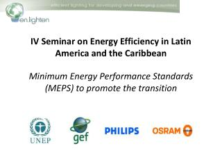 IV Seminar on Energy Efficiency in Latin America and the Caribbean
