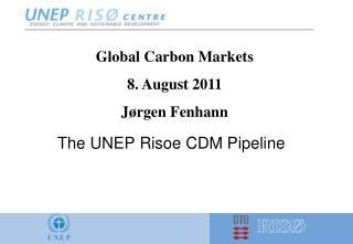 The UNEP Risoe CDM Pipeline