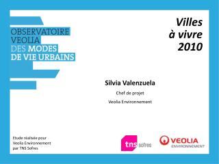 Villes  à vivre 2010