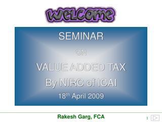 Rakesh Garg, FCA