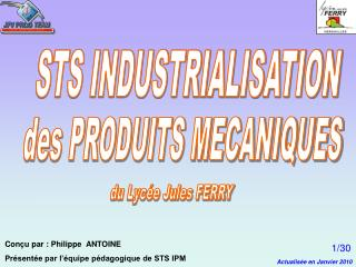 STS INDUSTRIALISATION