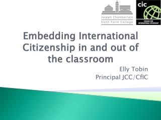 Embedding International Citizenship in and out of the classroom