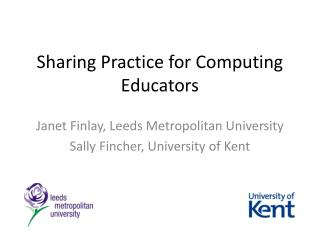 Sharing  Practice for Computing Educators