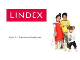 Ingela Lind, Environmental supply chain