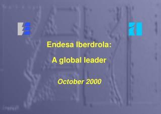 A global leader
