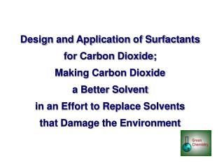Volatile Organic Compounds and Halogenated Organic Compounds