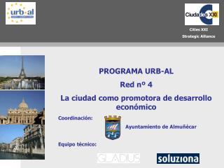 PROGRAMA URB-AL Red nº 4 La ciudad como promotora de desarrollo económico