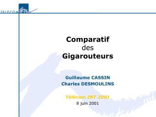 Comparatif des Gigarouteurs