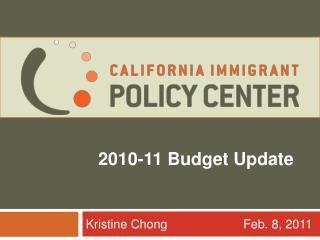 2010-11 Budget Update