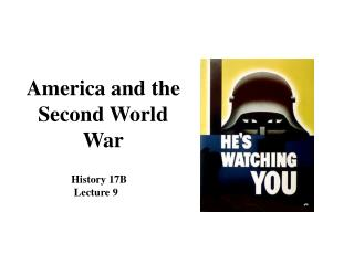 America and the Second World War