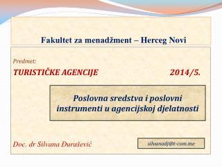 Fakultet za menadžment – Herceg Novi