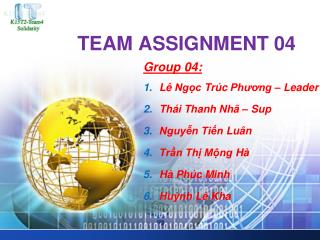 TEAM ASSIGNMENT 04