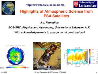 Highlights of Atmospheric Science from ESA Satellites