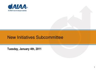 New Initiatives Subcommittee