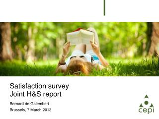Satisfaction survey Joint H&S report
