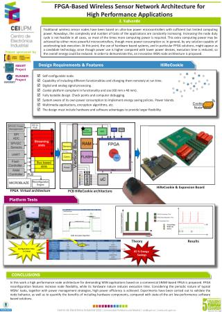 FPGA-Based Wireless Sensor Network Architecture for  High Performance Applications