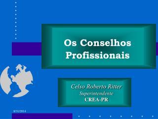 Celso Roberto Ritter Superintendente CREA-PR