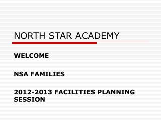 NORTH STAR ACADEMY