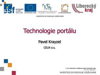 Technologie portálu