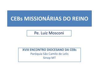 CEBs  MISSIONÁRIAS DO REINO