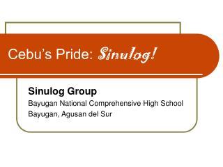 Cebu's Pride:  Sinulog!