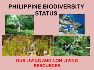 PHILIPPINE BIODIVERSITY STATUS