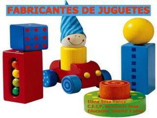 FABRICANTES DE JUGUETES