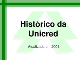 Histórico da Unicred