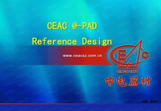 CEAC @-PAD  Reference Design