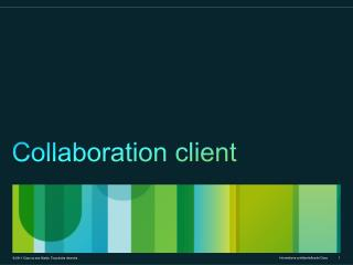 Collaboration client