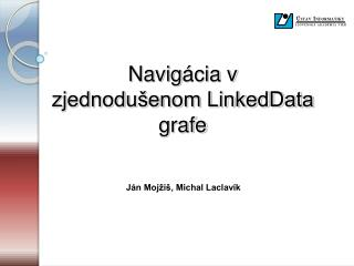 Navig ácia v zjednodušenom LinkedData grafe