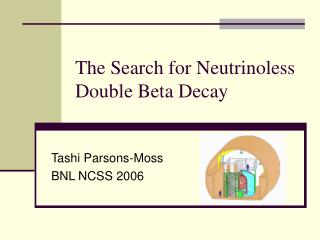The Search for Neutrinoless Double Beta Decay