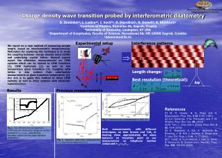 Charge density wave transition probed by interferometric dilatometry