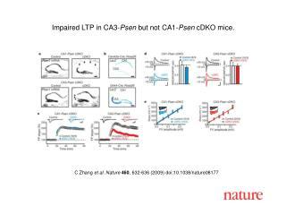 C Zhang  et al. Nature 460 , 632-636 (2009) doi:10.1038/nature08177