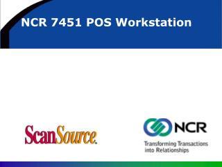 NCR 7451 POS Workstation
