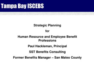Tampa Bay ISCEBS