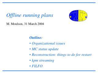 Offline running plans