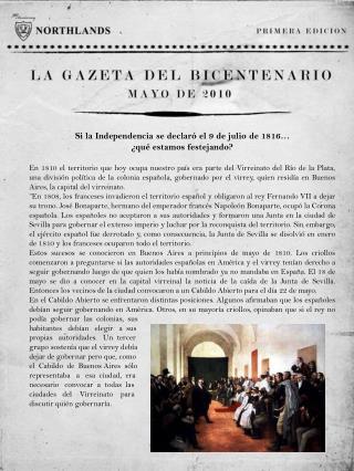 Si la Independencia se declaró el 9 de julio de 1816…  ¿qué estamos festejando?