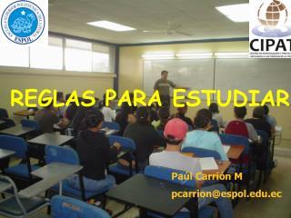 REGLAS PARA ESTUDIAR