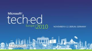 Advanced SIP-based Solutions built on the  Microsoft Unified Communications Managed API 3.0   Microsoft Lync Server 2010
