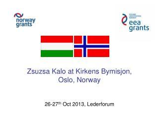 26-27 th  Oct 2013, Lederforum